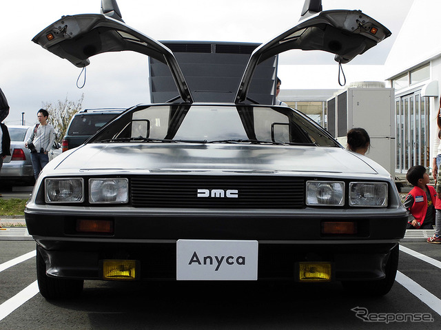 """How the special rides in the DeLorean started personal between the car sharing service Anyca (Anica) """"DMC-12"""""""