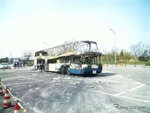 Jr bus Kanto car accident