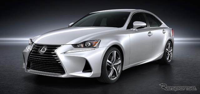 Baru Lexus IS ditingkatkan