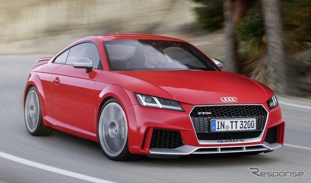 New Audi TT RS Coupe