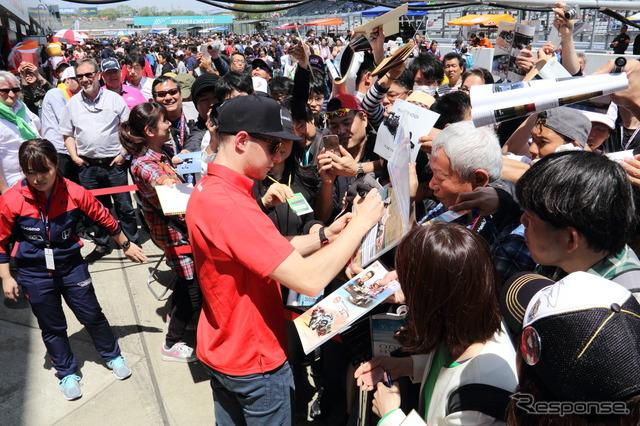 2016 NGK spark plugs Suzuka 2 & 4 race