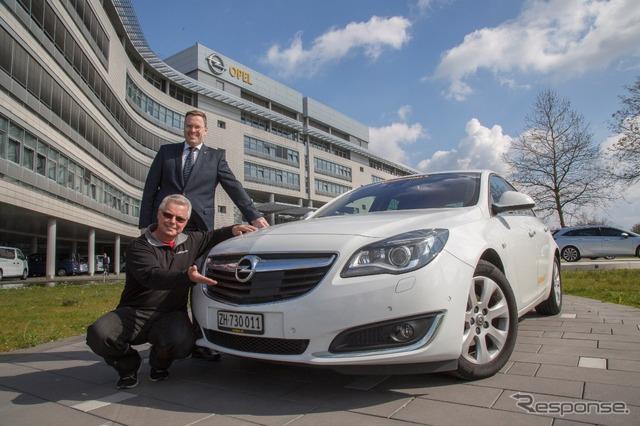 2111 km Oilless running successful Opel Insignia
