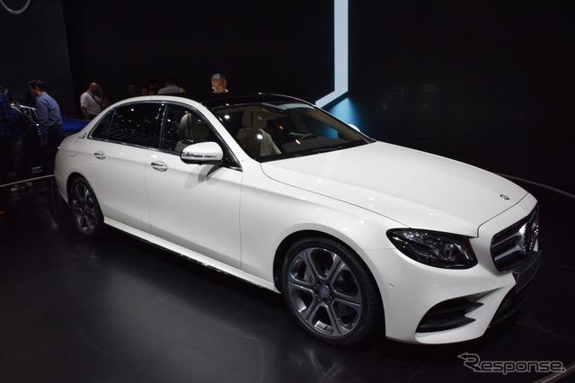 New Mercedes E-class long wheel base specification (Beijing motor show 16)