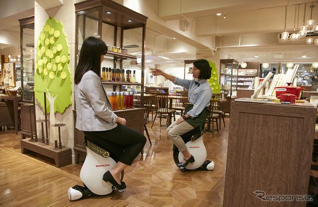Demonstration at Hajimari Cafe