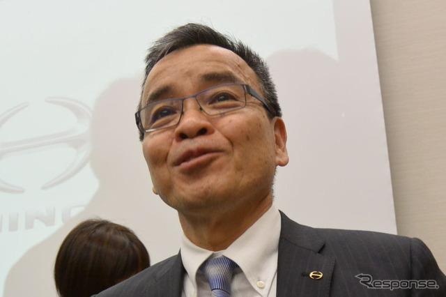 President of Hino Motor City bridge Yasuhiko
