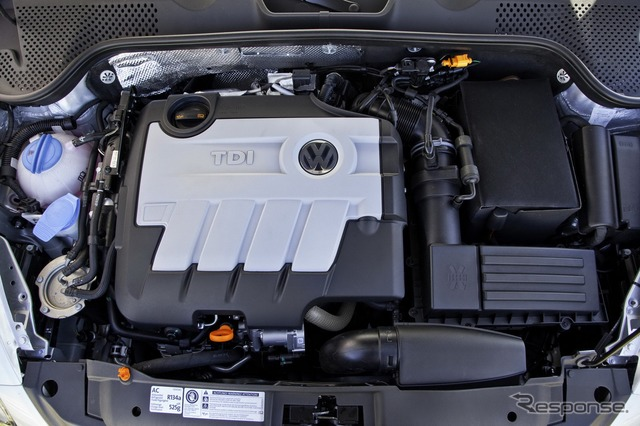 """TDI"" Volkswagen turbo diesel engine"
