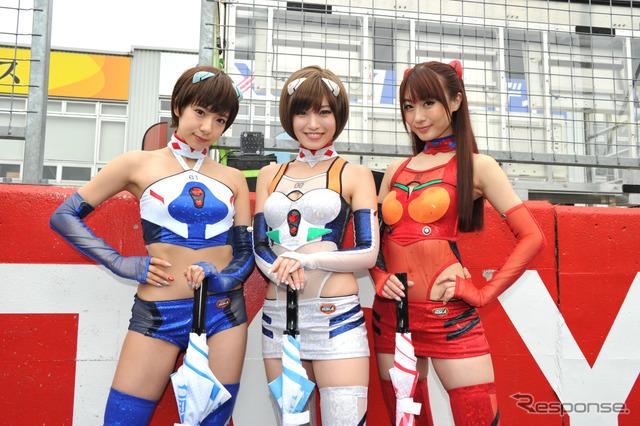 Of the SUPER GT round 1 race Okayama international circuit