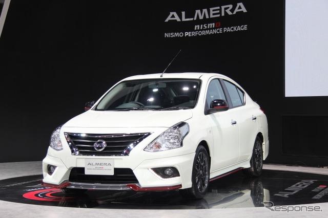 Nissan Almera Nismo at 2016 Bangkok International Motor Show