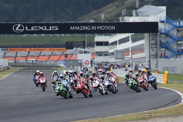 Fourth round of the all Japan road race at autopolis canceled