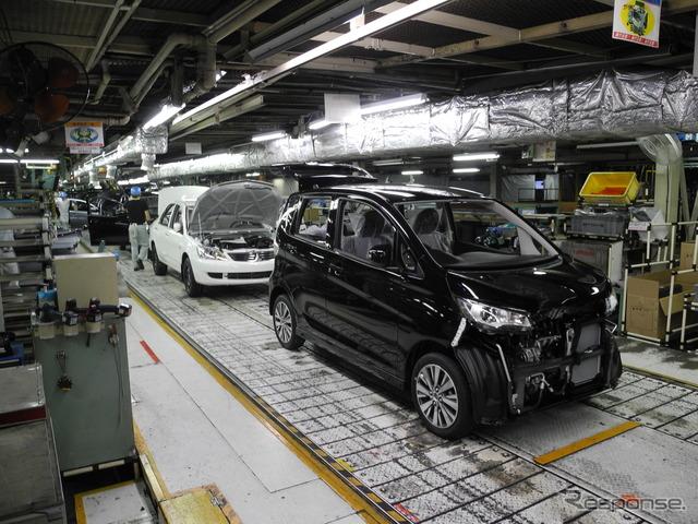Mitsubishi's Mizushima plant