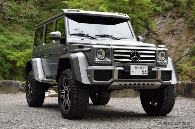 Mercedes-Benz G550 4 x 4 squared