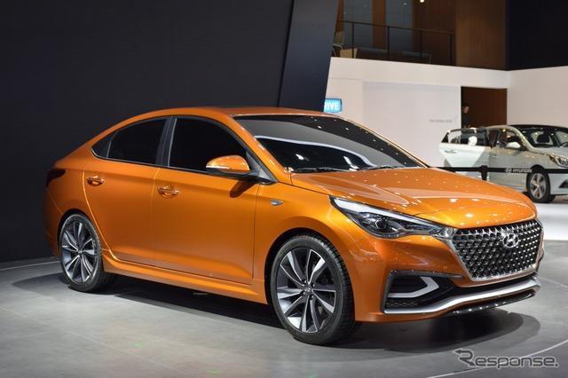 Hyundai Verna (Beijing motor show 16)
