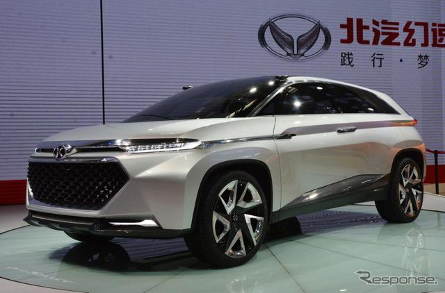 Beijing automotive science treasure OFF SPACE (Beijing motor show 16)