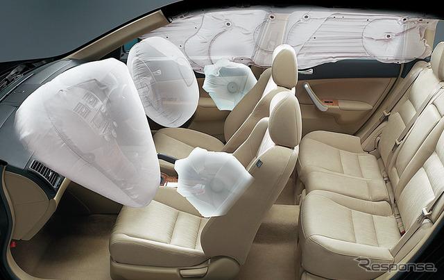 Honda Accord became the airbag recall of the TAKATA