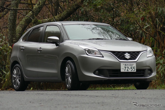 Suzuki Baleno XT set vehicles
