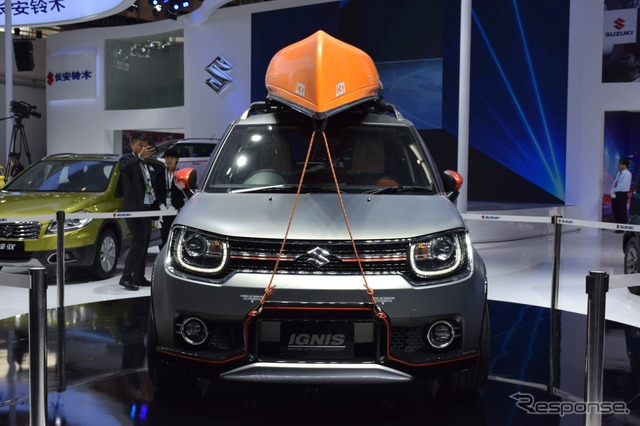 Suzuki Ignis Water Activity Concept at 2016 Beijing Motor Show