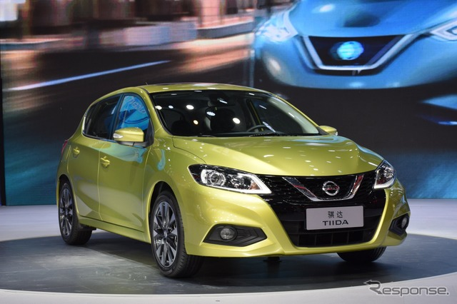 Nissan Tiida at 2016 Beijing Motor Show