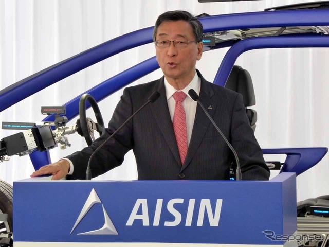 Aisin Seiki President Junichi ihara maintenance said