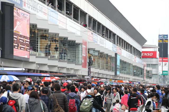 This event is the most popular event of the SUPER GT [kidspitwalk]