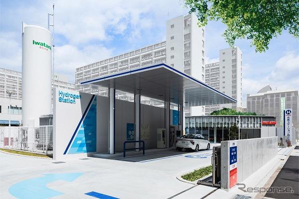 Iwatani hydrogen stations Osaka morinomiya