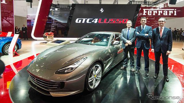 Ferrari GTC4 Russo (Beijing salón del automóvil de 16)