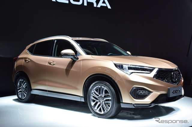 Acura CDX at the 2016 Beijing Motor Show