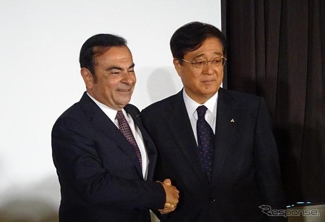Mashiko ประธานาธิบดี Carlos Ghosn นิสสันมอเตอร์และมอเตอร์มิตซูบิชิ (12)
