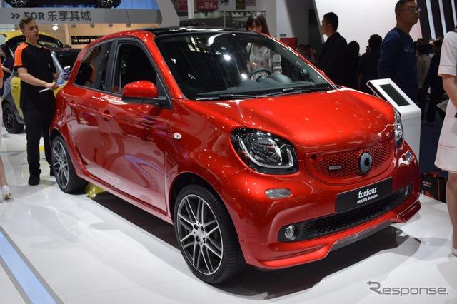 Smart forfour Brabus exclusive (Beijing motor show 16)