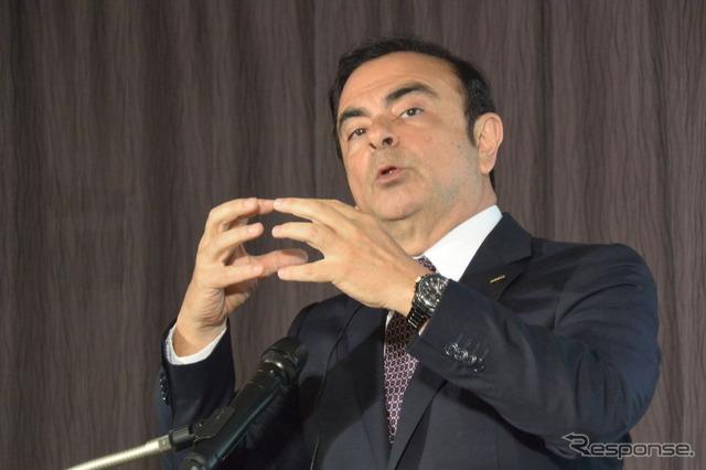 นิสสันมอเตอร์ Carlos Ghosn CEO