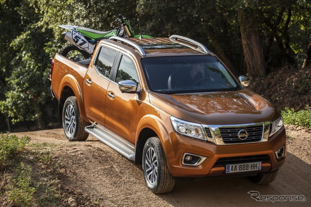 New Nissan NP300 Navarre European specifications