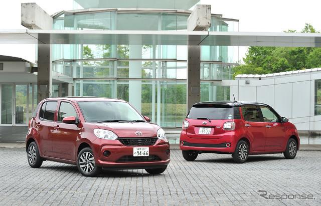 Silk Daihatsu boon and Toyota Passo