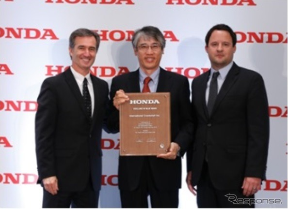 International Crankshaft Inc. (ICI) wins Honda North America's 2015 Excellence In Value award