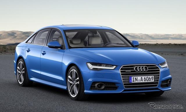 Audi A6 sedan 2017 type.