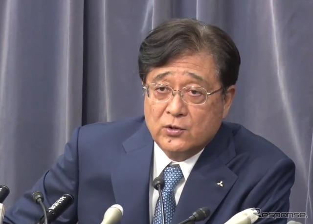 Mashiko, Chairman of Mitsubishi Motors Corporation (images)