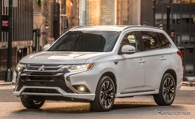 The new and updated Mitsubishi Outlander PHEV