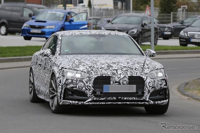 Audi RS5 scoop