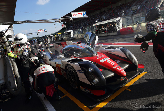 "Submitted to WEC's ""Toyota TS050 HYBRID] (5 car)"