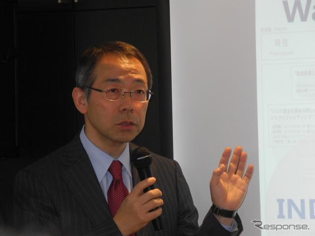 Hoshino Kota officer of Mitsui chemicals, Inc.