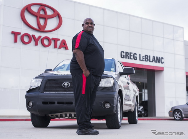 Toyota Tundra with over 1,000,000 miles