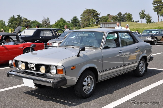 In 1978, Subaru Leone 4-door sedan 4WD
