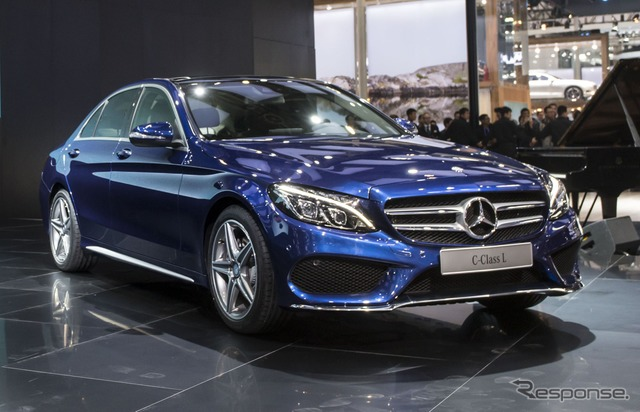New Mercedes-Benz C-class long wheel base (Beijing Motor Show 14)