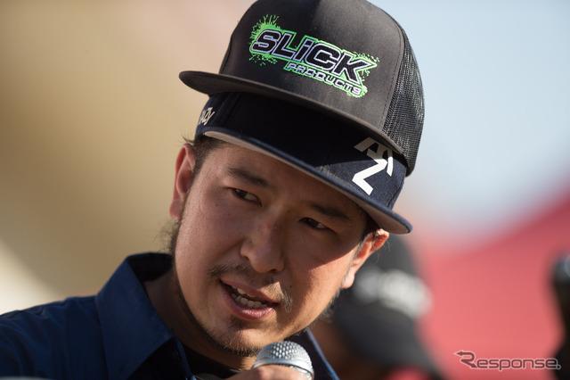 Kobayashi is for own the podium.