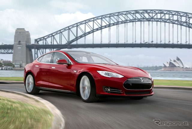 Tesla model S 2016 model (reference image)