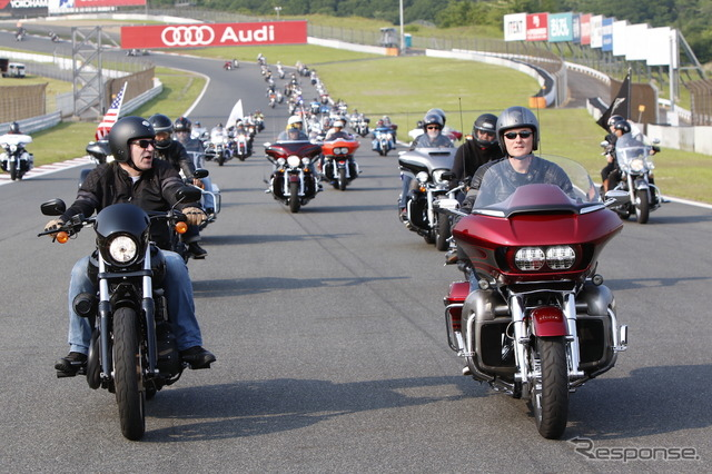 Harley-Davidson BLUE SKY HEAVEN became the 18th meeting in