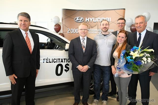 Hyundai reaches Canada total sales of 2 million