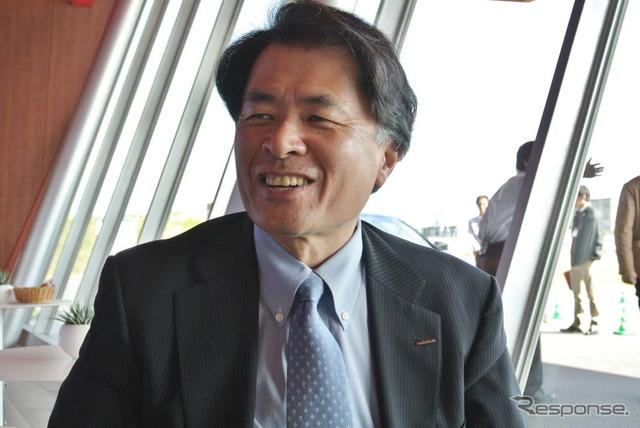 Nissan Motor, Mitsuhiko Yamashita Vice President (images)