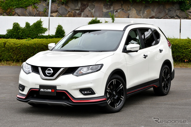 NISMO performance package suspension, Nissan x-trail