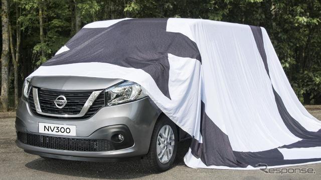 Nissan NV300 teaser image