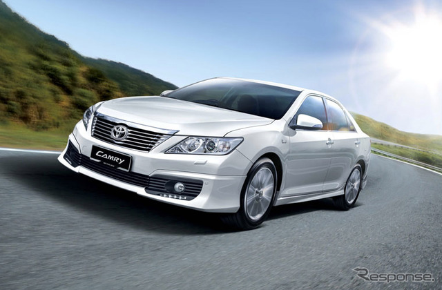 Toyota Camry (Malaysia specifications and reference image)