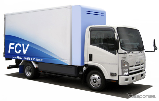 Fuel cell trucks